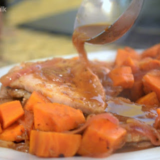Juice Box Pork with Sweet Potatoes