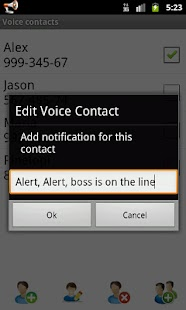 Voice Caller ID + SMS Pro - screenshot thumbnail