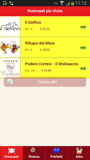 Risto App - Prenota Ristorante