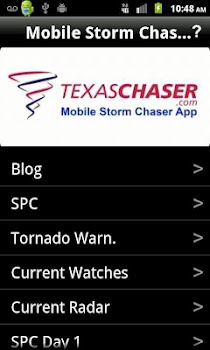 Mobile Storm Chaser