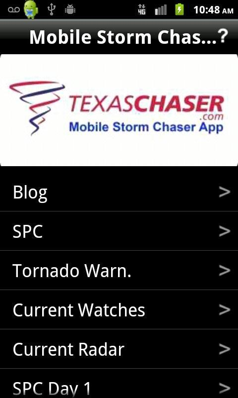 Mobile Storm Chaser - screenshot