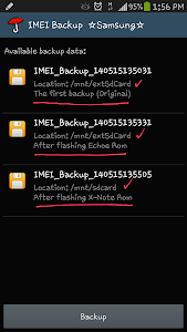 IMEI Backup ☆Samsung☆ – A complete IMEI/EFS Backup and Restore
