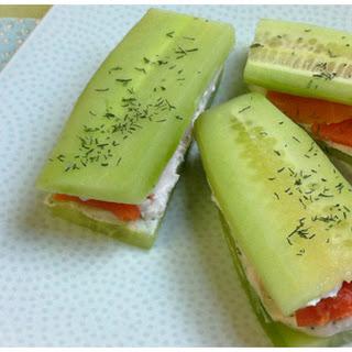 Cucumber Sandwiches Print.