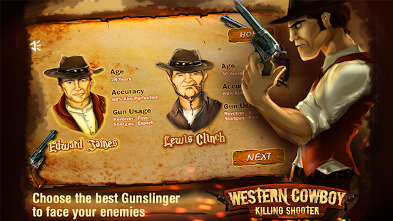 %name Western Cowboy Killing Shooter v1.10 Mod APK