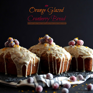 Orange-Glazed Cranberry Bread