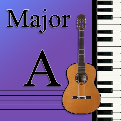 Learn Music Maj Scale Notes A