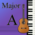 Learn Music Maj Scale Notes: A logo