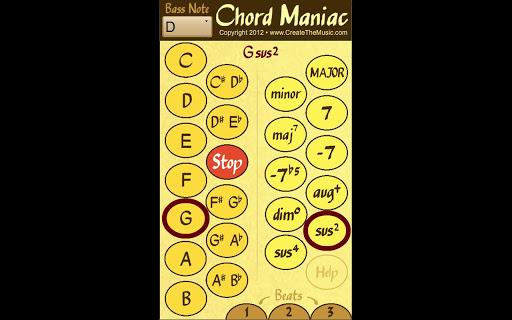 【免費音樂App】Chord Maniac - Music Maker-APP點子