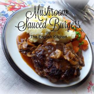 Mushroom Sauced Burgers