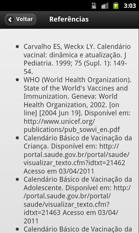 Vacinas Brasil- screenshot