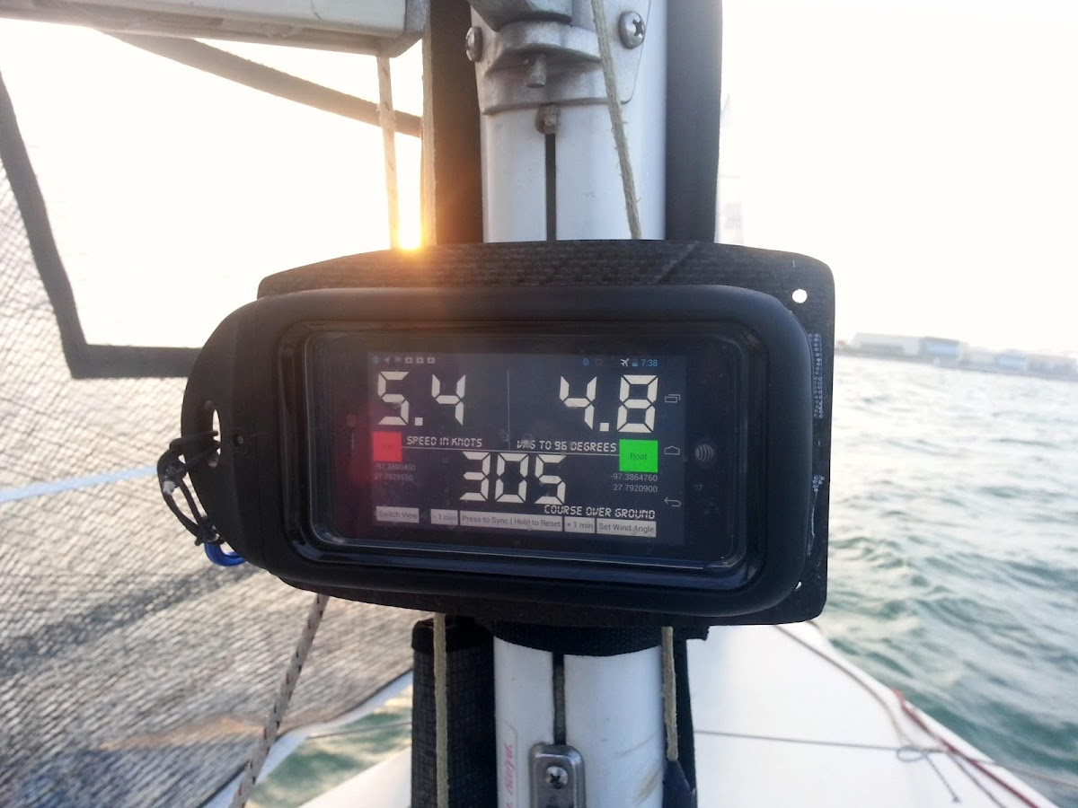 SailBot Sailing Instrument - screenshot