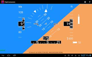 Screenshot of Flight Instruments