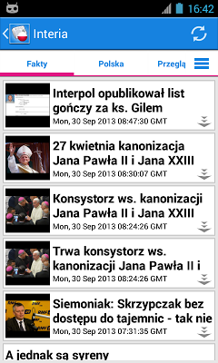 Polska News - screenshot