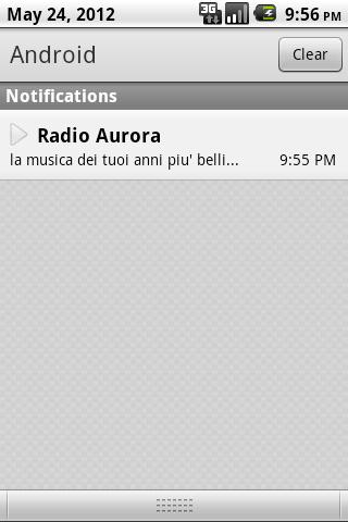 Radio Aurora- screenshot