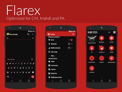 FlareX CM11 Theme v1.7