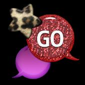 GO SMS - Leopard Star Sky