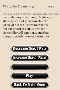 Speed Reading Trainer- screenshot thumbnail