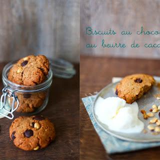 Choco-Peanut Cookies.