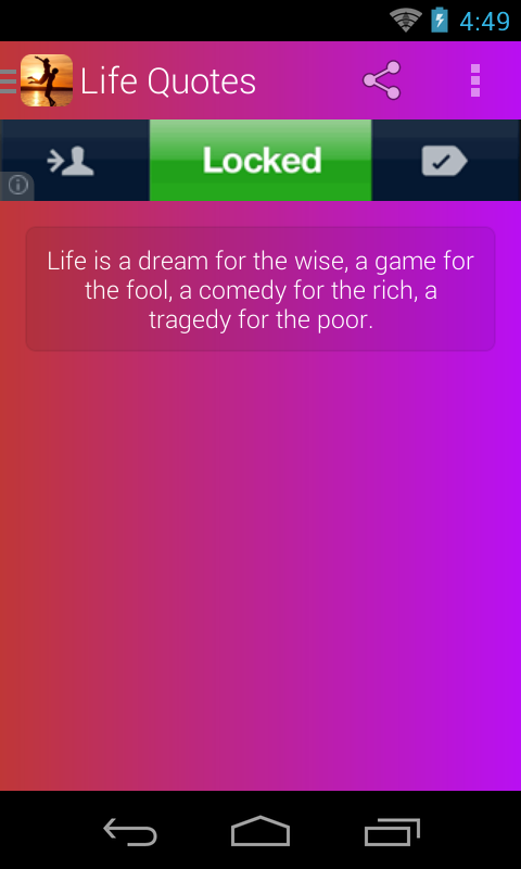 Life Quotes - screenshot