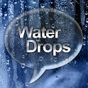 Water Drops Go SMS Pro Theme icon