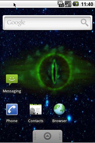 Eye of Sauron live wallpaper- screenshot