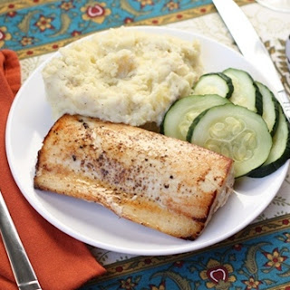 Sauteed Ono (or Tilapia) with Balsamic Butter Sauce