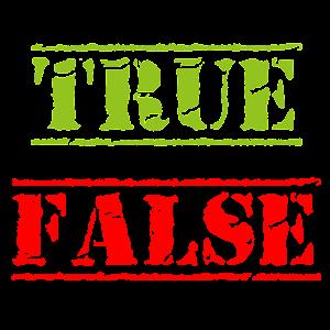 True or False? The Big...