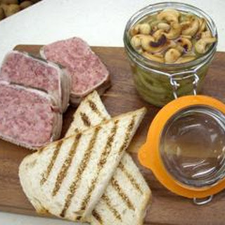 Venison Pate With Spicy Pickle