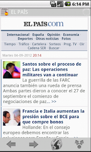 News & Magazines in Spain - screenshot thumbnail