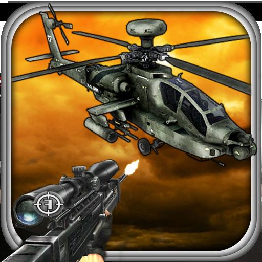 直升机空中射击攻击 動作 App LOGO-硬是要APP