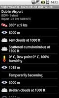 Screenshot of Flight Weather