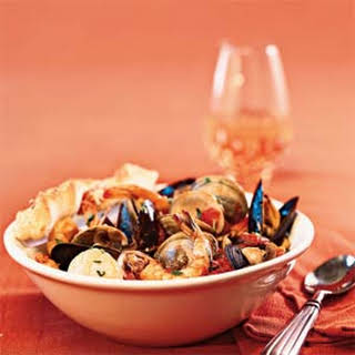 Quick Seafood Cioppino.