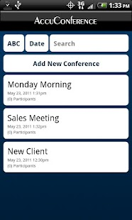 AccuDial - Conference Call - screenshot thumbnail