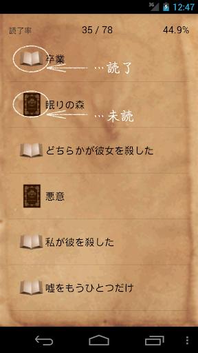 読了チェック 東野圭吾