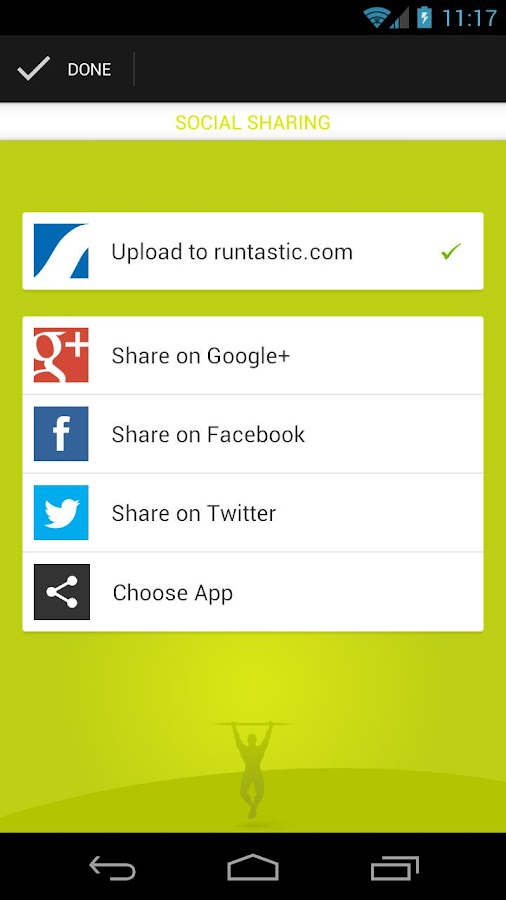 Runtastic Pull-Ups - screenshot