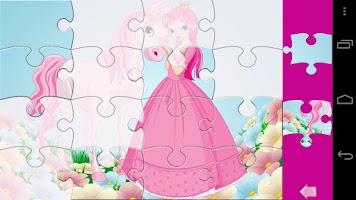 Screenshot of Kids Puzzle Princess Lite