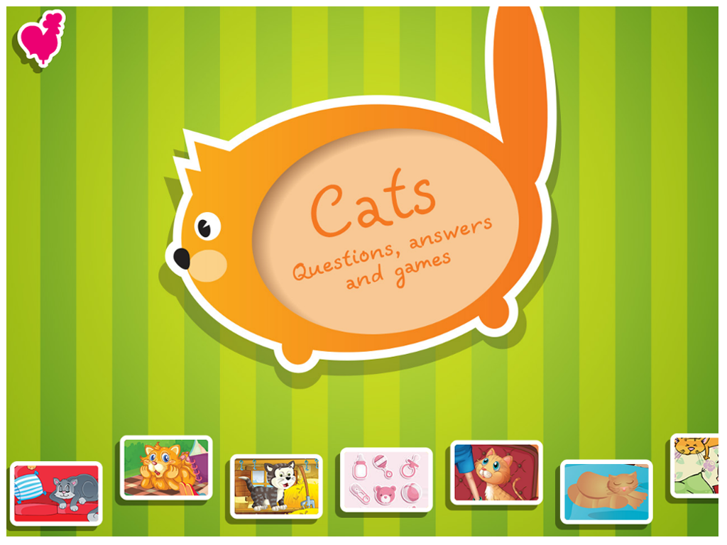 Cats. Questions, Answers, Game- screenshot