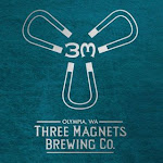 Logo of Three Magnets / Wingman Brewers Salish Saison