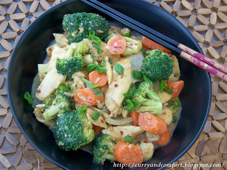 Chinese Chicken Stir Fry 101 Recipe