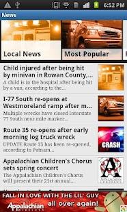 WOWK-TV 13 News- screenshot thumbnail
