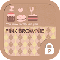 Pink brownie Protector Theme icon