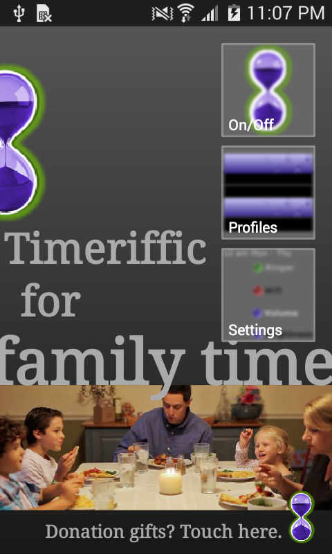 Timeriffic- screenshot