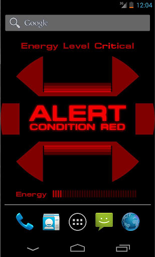 ST: Red Alert Wallpaper