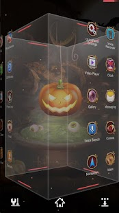 Next Halloween Pumpkin  LWP- screenshot thumbnail
