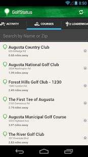 GolfStatus - screenshot thumbnail