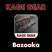 KAGE GEAR - Bazooka Shots x10