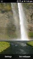 Screenshot of Waterfall Live Wallpaper Video