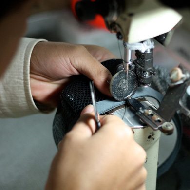 How your shoes are made: the stitch station