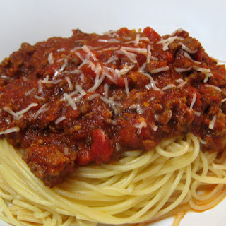 Slow Cooker Bolognese Sauce.