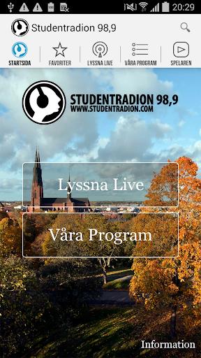 Studentradion 98 9